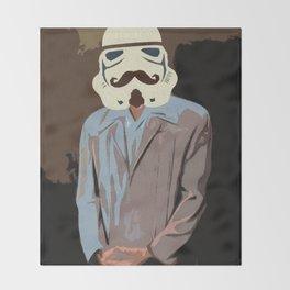 Proper Stormtrooper Throw Blanket