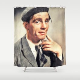 Norman Wisdom, Comedy Legend Shower Curtain