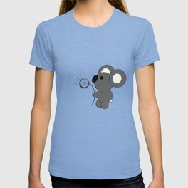 "Baby Koala Making Dandelion ""Wishies"" T-shirt"