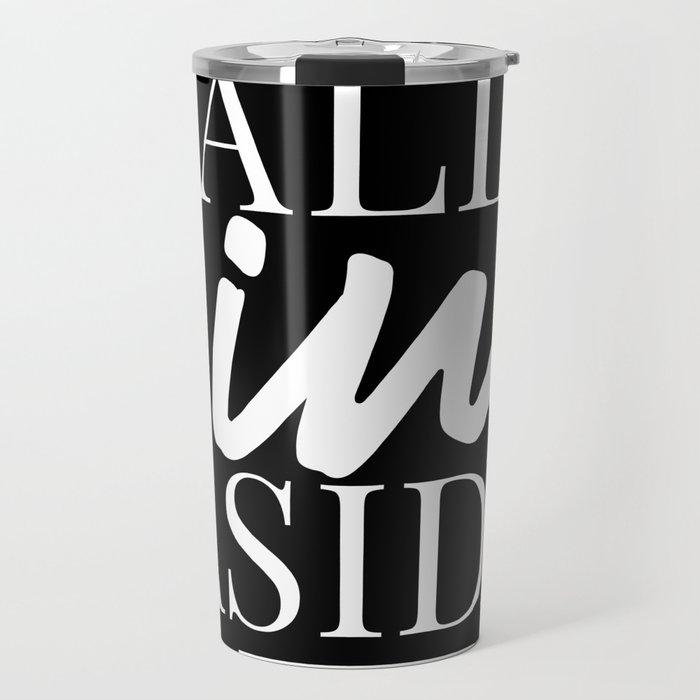 All wine aside - the podcast Travel Mug