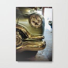 Buick Woody - Part of the Vintage Car Series Metal Print