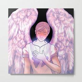 90s anime | Escaflowne | Hitomi Kanzaki angel wings Metal Print