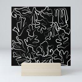 Matisse Line Art Aesthetic Mini Art Print