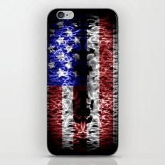 USA abstract  iPhone & iPod Skin
