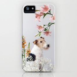 My baby sent me flowers iPhone Case
