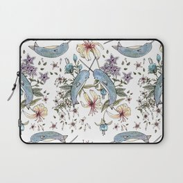 Narwhal pattern Laptop Sleeve