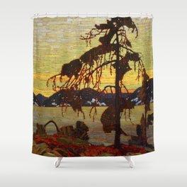 Tom Thomson - The Jack Pine Shower Curtain