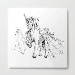 Dragonicorn Metal Print