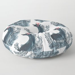 Deep sea deer Floor Pillow