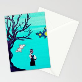 Waiting on God Knows What  Stationery Cards