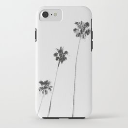 Black & White Palms iPhone Case