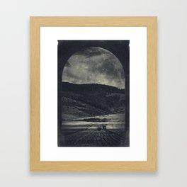 eerie landscapes 3 Framed Art Print