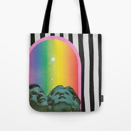 Stars Shine Brighter With You Tote Bag