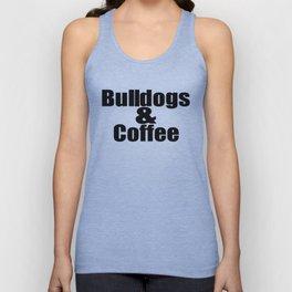 Bulldogs & Coffee Unisex Tank Top