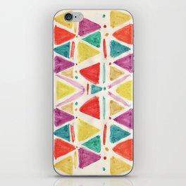 spring triangle  iPhone Skin