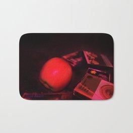 Apple and Cassettes Bath Mat