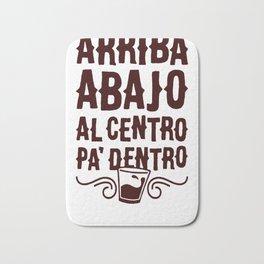 ARRIBA ABAJO AL CENTRO PA_ DENTRO T-SHIRT Bath Mat