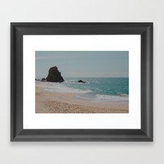 Paradise Day Framed Art Print