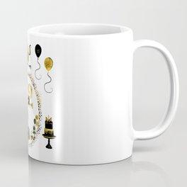 Pretty Golden Unicorn Birthday Girl 12 Years Born 2006 Coffee Mug