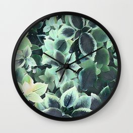 coleus Wall Clock