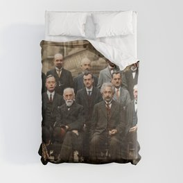 Solvay Conference Comforters