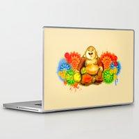 buddah Laptop & iPad Skins featuring Buddah by Adaildo Neto