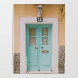 Mint Door Poster