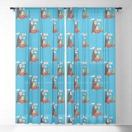 Guess Who Sheer Curtain