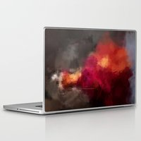 dress Laptop & iPad Skins featuring Fire dress by Dnzsea