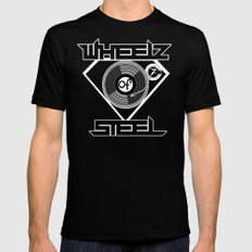 IN THE MIX Mens Fitted Tee SMALL Black