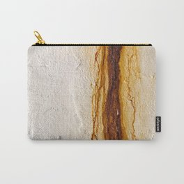 Concrete Bleeding Rust Carry-All Pouch