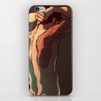 tattoos iPhone & iPod Skins featuring Wing Tattoos by rdjpwns