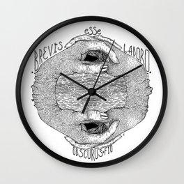 Brevis Esse Labord Wall Clock
