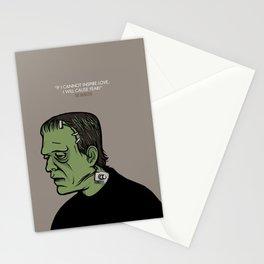 The Monster Frankenstein Stationery Cards