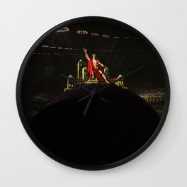 """Satan Preceding over the Infernal Council"" by Jeanpaul Ferro Wall Clock"