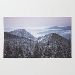 Mountain love Rug