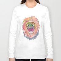 courage Long Sleeve T-shirts featuring Courage by Jhoanna Monte