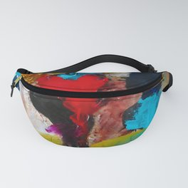 Nevada Team - Abstract Contemporary figure Fanny Pack