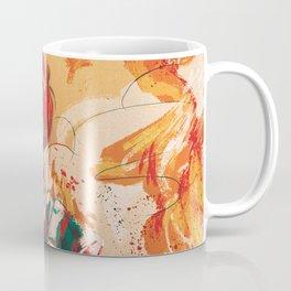 Half-Cold Half-Hot Coffee Mug