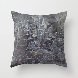 The Shipbuilders Throw Pillow
