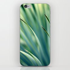 Spiked Leaves on a Slant iPhone Skin