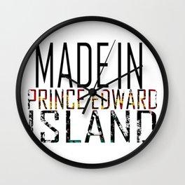 Made in Prince Edward Island Wall Clock