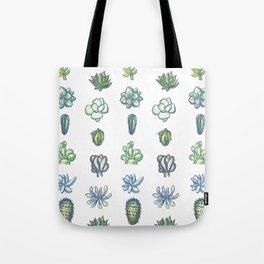 One Dozen Succulents Tote Bag