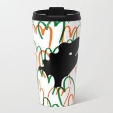 Jungle Dinosaur Metal Travel Mug