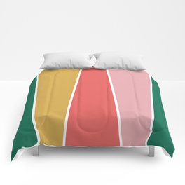 Summer Garden Color Block Comforters
