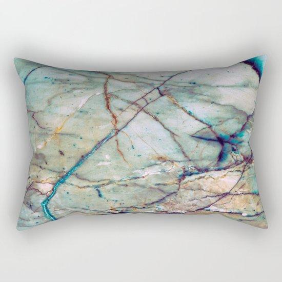 Azul Macaubas Marble Rectangular Pillow