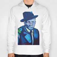 frank sinatra Hoodies featuring Frank Sinatra by camillustration