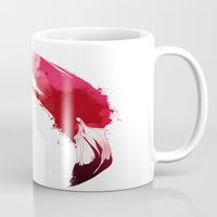 flamingo Mugs featuring Flamingo by KUI29