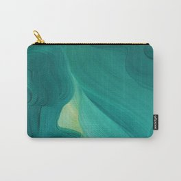 Aquamarine Vista Carry-All Pouch