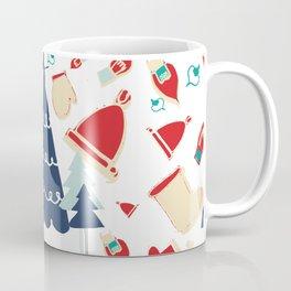Christmas tree blue Coffee Mug